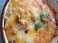 ~阿姐的菜~茄汁鯖魚焗烤飯