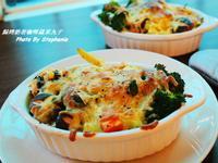 焗烤咖哩蔬菜丸子