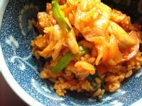 春川辣雞泡菜炒飯