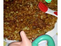寶寶的蛋香米煎餅