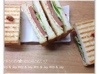 [Witi✿Kitchen]素火腿三明治