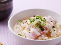 低熱量輕食》鯛魚片茶泡飯