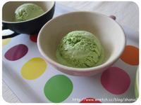 第一次就成功的 綠茶冰淇淋