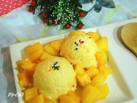 芒果煉奶冰淇淋