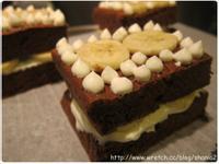 巧克力香蕉海綿蛋糕