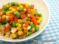 【熟菜改造2】三色蔬拌滷貢丸