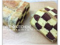 [Witi✿Kitchen]酥皮格子蛋糕