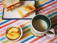 [小烤箱]培根起司蛋三明治