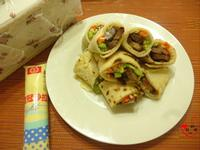 「桂冠夏至涼拌」燒肉捲餅