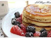 美國傳統早餐-美式鬆餅(Pancake)