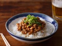 深夜食堂》納豆(第6夜) 納豆飯