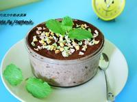 簡單版-盆栽巧克力牛奶冰淇淋/幕斯