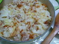 lanni  香甜高麗菜飯