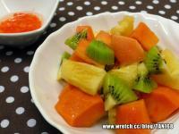 辣椒醋熱帶水果 ♥水果沙拉15♥