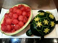 可愛的西瓜烏龜