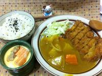 咖哩豬排餐