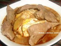 麻油蛋包豬肝湯