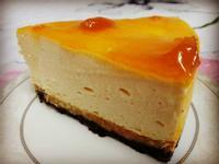 簡易水蜜桃果醬芝士蛋糕