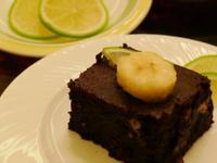 香蕉布朗尼~濃郁紮實的巧克力蛋糕