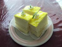 檸檬慕斯蛋糕