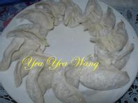 (蛋素)冬粉絲瓜水餃