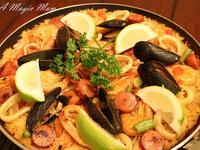 西班牙海鮮飯 (Seafood Paella)