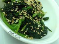 CDE 韓式涼拌菠菜(시금치무침)