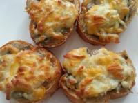焗烤蘑菇麵包
