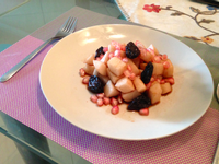 紅酒醋水果沙拉【小確幸Angel⭐廚房】