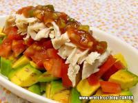 糖醋醬佐雞絲酪梨沙拉  ◆唐風沙拉4◆