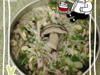 寶寶的香菇湯麵線