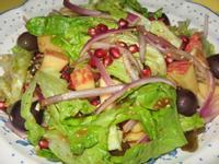 石榴蔬果沙拉