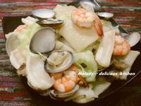 手工海鮮麵疙瘩