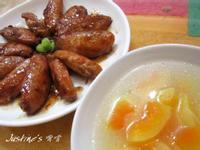 雞翅雙食譜~貴妃雞與青木瓜雞湯