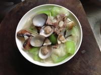 絲瓜蛤蠣細麵