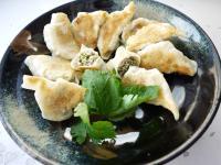 雪菜鮮肉煎餃