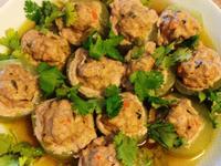 電鍋料理超簡易黃瓜鑲肉