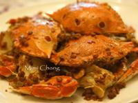 Mimi♥油蔥酥炒蟹