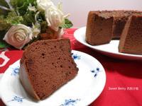 3倍濃郁巧克力戚風蛋糕