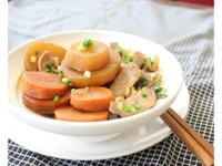 醬燒大根豬肉片~時間淬釀的甘露之味