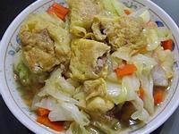 手工蛋捲燴高麗菜