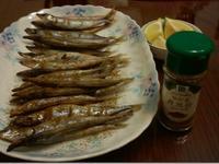 湘妃假賢慧之塩烤柳葉魚