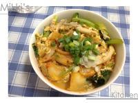 [剩菜再利用]韓式泡菜豬肉丼飯