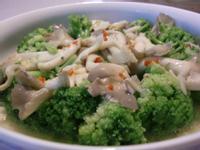 綠椰燴秀珍菇