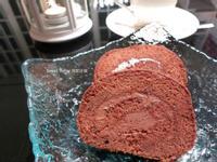巧克力奶油瑞士蛋糕卷