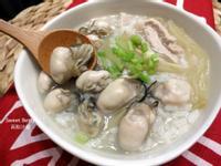 酸菜鮮蚵粥