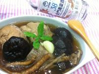 肉骨茶香菇雞湯[金門高粱飄香料理]
