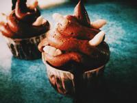 [萬聖節]進擊的蛆蛆杯子蛋糕 Maggot Intrusion Cupcakes