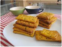 四種材料簡單做 - 地瓜餅乾