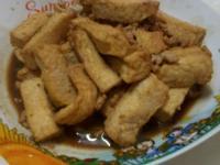 肉碎炒豆腐